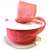 TESS SOFT PAPER RIBBON RED 20M