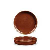 Terracotta Mezze Dish 20cm 20cm 55cl 19.4oz Carton of 6