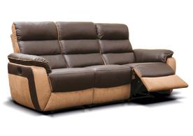 Ritz Leather & Fabric Sofa