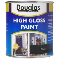 DOUGLAS HIGH GLOSS PAINT BLACK 250ML