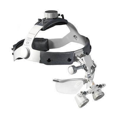 HEINE HR 2.5x Binocular Loupe Set with Professional L Headband with S-Guard