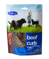 Hollings Beef Curls 100g x 8