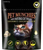 Pet Munchies Cat Treats - Gourmet Chicken Liver 10g x 8