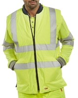 B-Seen Reversible Yellow Hi-Vis Bodywarmer