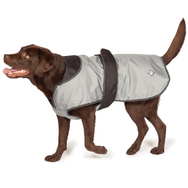Danish Design 2-in-1 Four Seasons Dog Coat Grey 65cm