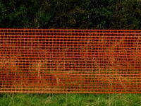 Orange Barrier Fencing Roll 50m(L) x 1m(H)