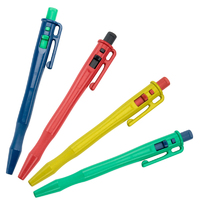 Detectable Retractable Pen - c/w Pocket Clip and Lanyard Loop