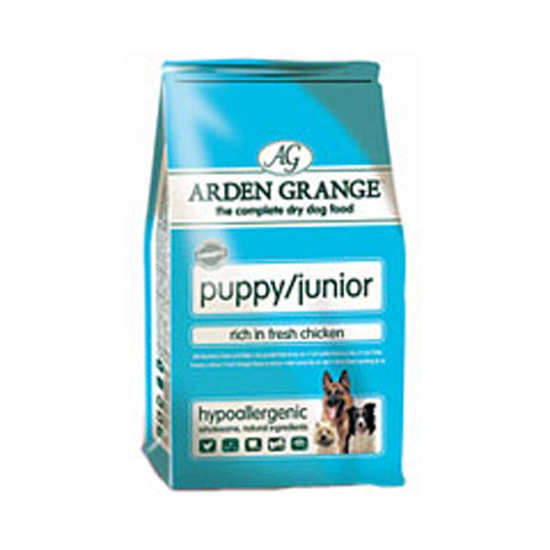 Arden Grange Chicken Puppy/Junior Dog Food 2kg
