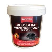 Rentokil Mouse & Rat Weatherproof Blocks - 5 Sachet