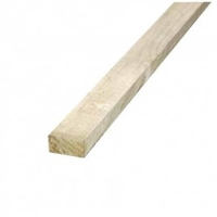 3.6m timber rail 87x38mm light green