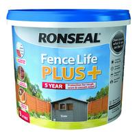 Fence Life Plus 9L Slate