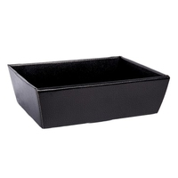 TRAY  BLACK MOTTLED 23X17X8CM
