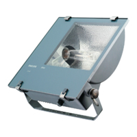PHILIPS  250 WATT METAL HALIDE TEMPO FLOODLIGHT & LAMP