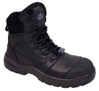 Mustang 7110 Nitrile Sole 300°C Lace Up Safety Boot with Scuff Cap
