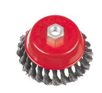 Super-Cut Wire Brush Knotted 125mm M14 x 2