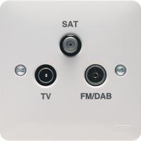 Triplexer TV/FM/DAB & SAT Outlet | LV0301.0602