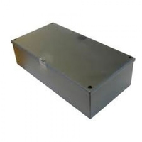 12 x 12 x 2 Galvanised Knockout Adaptable Box