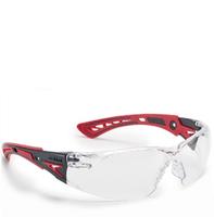Bolle Rush+ Clear Anti-scratch, Anti-fog, Platinum glasses