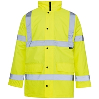Supertouch Hi-Visibility Standard Parka, Yellow
