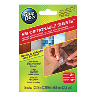 Glue Dots Repositionable Sheets 5pk