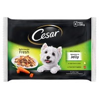 Cesar Pouch - Selection in Jelly 100g 4pk x 13