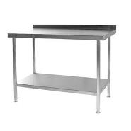 Wall Bench Stainless Steel 900mm x 650mm