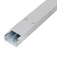 100 x 50mm Two Compartment Trunking c/w Lid