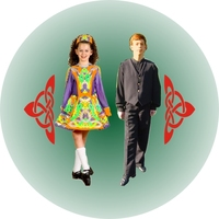 Dancing - Irish Pair (25mm Centre)