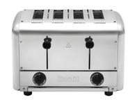 Catering Pop-Up Toaster Stainless Steel 4 Slot