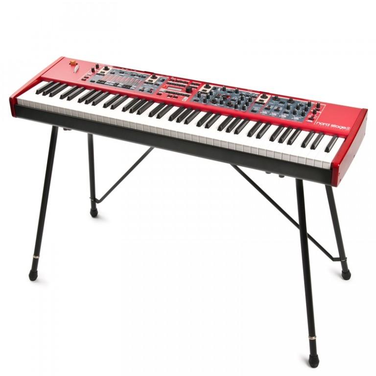 keyboard stand with keyboard