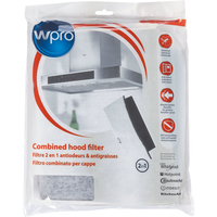 Wpro C00380049 Combined Cooker Hood Filter (2-In-1 Grease And Carbon Filter)