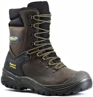 Grisport Hercules Steel Midsole And Toe Lace Up High Leg Safety Boot Brown