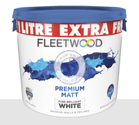 Fleetwood Premium Matt Extra 10Ltr