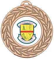 45mm Bronze Zamac Laurel Medal | TC94