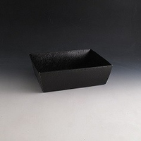 Black hamper basket