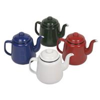 Falcon Enamel Teapot 14cm/1.5L in Red