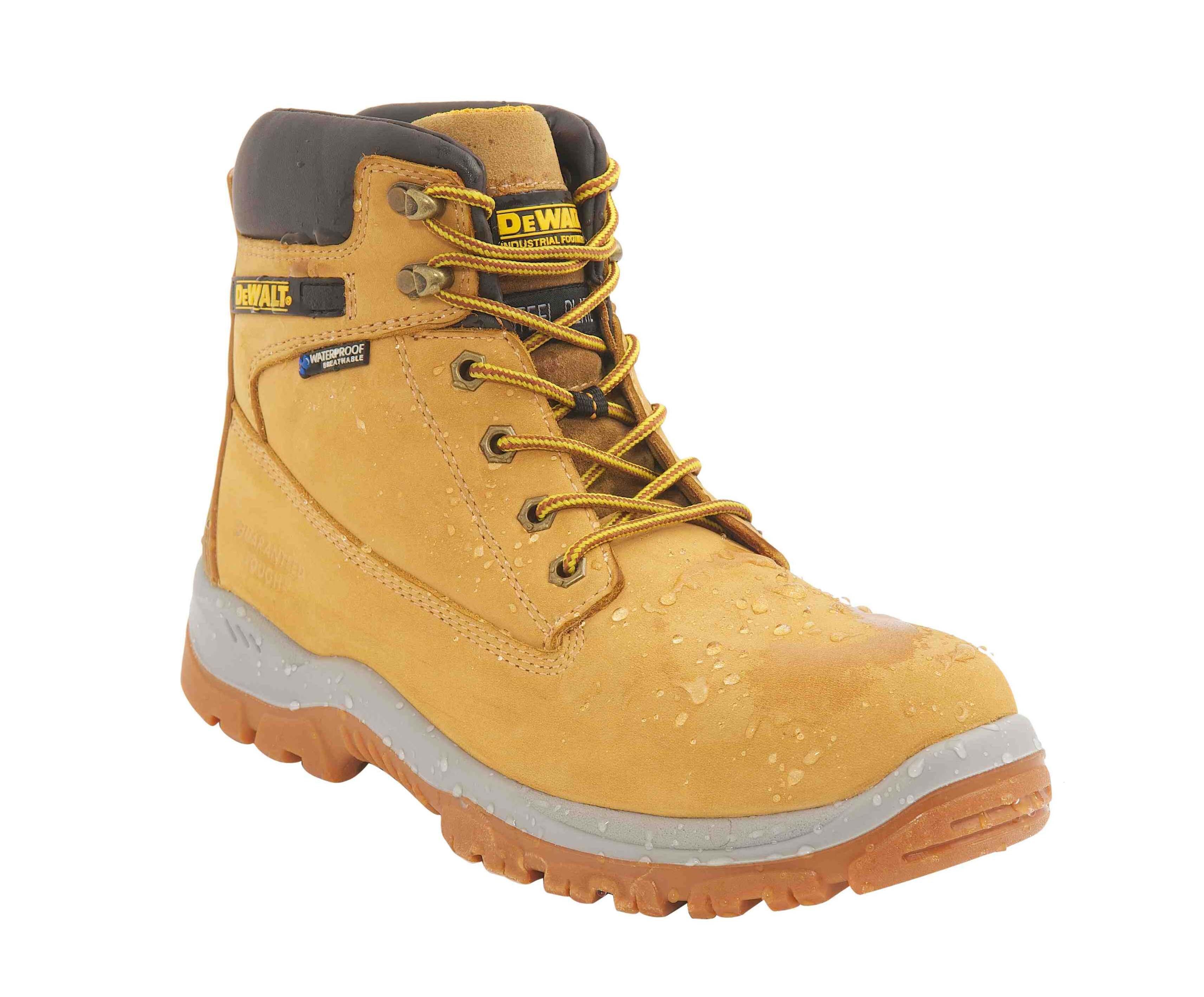 DeWALT Titanium Hiker Waterproof Boot Honey S3 WR SRA