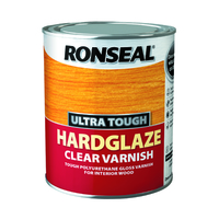 Ronseal Ultra Tough Varnish 750ml Hradglaze