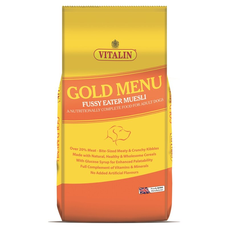 Vitalin Gold Menu Dog Food 15kg