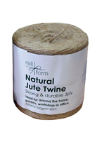 Mill Farm Natural Jute Twine Large 250g Spool (HDNT250)