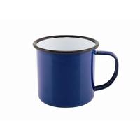 Mug Coloured Enamel Blue 36cl 12.5oz