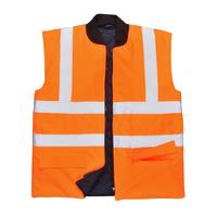 Portwest Hi-Visibility Bodywarmer Hi-Vis Orange