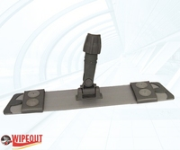FLAT MOP HOLDER VELCRO 40cm (metal)