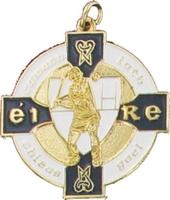 34mm Hurling Medal (Gold / Navy)