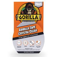 Gorilla Crystal Clear Tape (Clear Repair) 8.2m