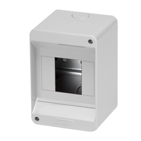 Gewiss 4 MOD Surface IP40 Enclosure No Door