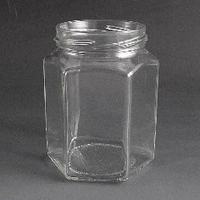 288ml Heaxgonal Jar