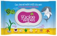 Yuckie Saline Nose Wipes Acai And Youghurt 30s
