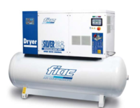 Fiac 20HP 500LTR 400Volt Compressor 20/500 (112.168.0310) 67.1 CFM With Dryer (Ploughing Special Discount Price)