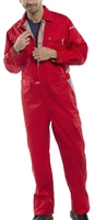 Click Premium Coverall Red